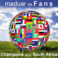 Champions go to South Africa