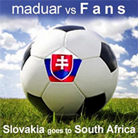 Slovakia goes to South Africa