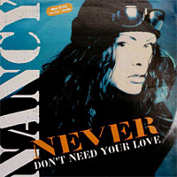 Never (Don't Need Your Love)
