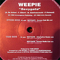 Weepie - Sexygate